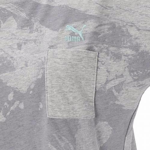 プーマ(PUMA) AOP ショートスリーブ Tシャツ 572961 04 GRY(Lady's)