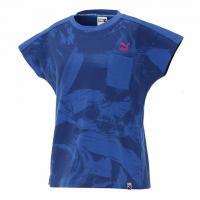 プーマ(PUMA) AOP ショートスリーブ Tシャツ 572961 10 BLU(Lady's)