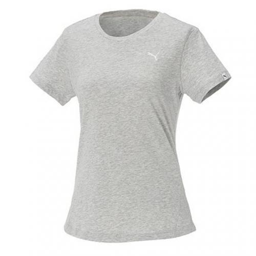 プーマ(PUMA) エッセンシャル ショートスリーブ Tシャツ 593205 04 GRY(Lady's)