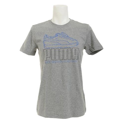 プーマ(PUMA) ゼビオ限定 FTW グラフィック Tシャツ 850575 02 GRY(Men's)