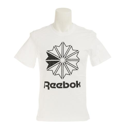 リーボック(REEBOK) CLASSIC スタークレスト プリント Tシャツ BWN13-BK4177(Men's)