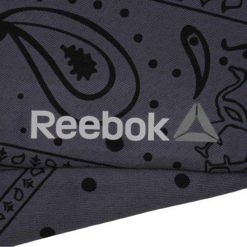リーボック(REEBOK) ユルスリム グラフィックカプリパンツ LNR69-BC5172(Lady's)