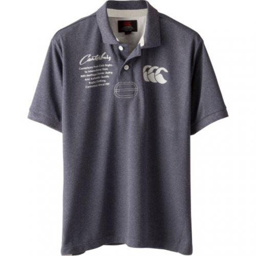 カンタベリー(canterbury) ショートスリーブ ラガー ポロシャツ RA37104 29(Men's)
