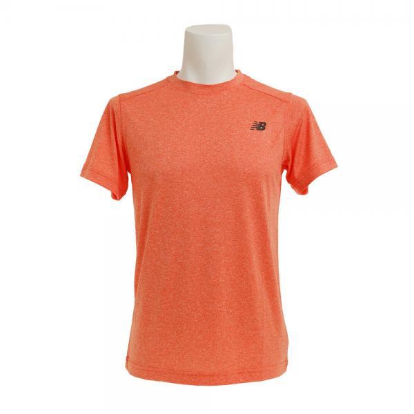 ニューバランス(new balance) ショートスリーブ ヘザーテックTシャツ AMT53091AOH(Men's)