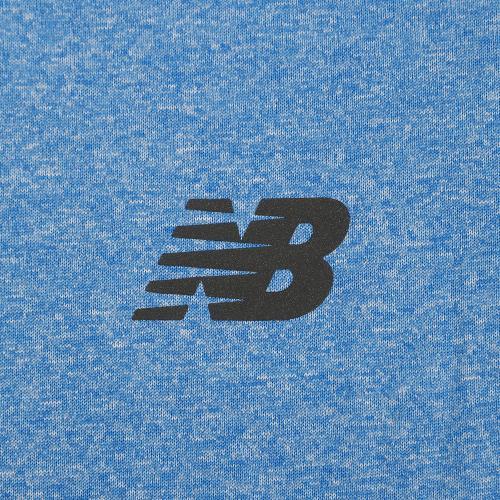 ニューバランス(new balance) ショートスリーブ ヘザーテックTシャツ AMT53091EBH(Men's)