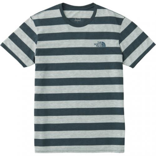 ノースフェイス(THE NORTH FACE) S/S COLOR HEATHERED メンズ ボーダー 半袖Tシャツ NT31798 ZN(Men's)