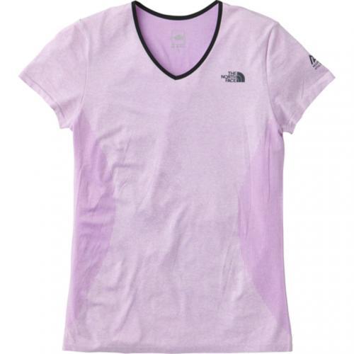 ノースフェイス(THE NORTH FACE) ショートスリーブチューブボディVネック S/S Tubebody V-neck NTW11780 BF ウィメンズ 半袖Tシャツ(Lady's)