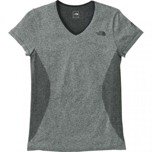 ノースフェイス(THE NORTH FACE) ショートスリーブチューブボディVネック S/S Tubebody V-neck NTW11780 ZC ウィメンズ 半袖Tシャツ(Lady's)