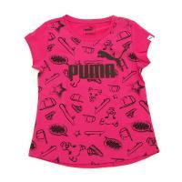 プーマ(PUMA) ガールズ ショートスリーブ Tシャツ 593259 21 PNK(Jr)