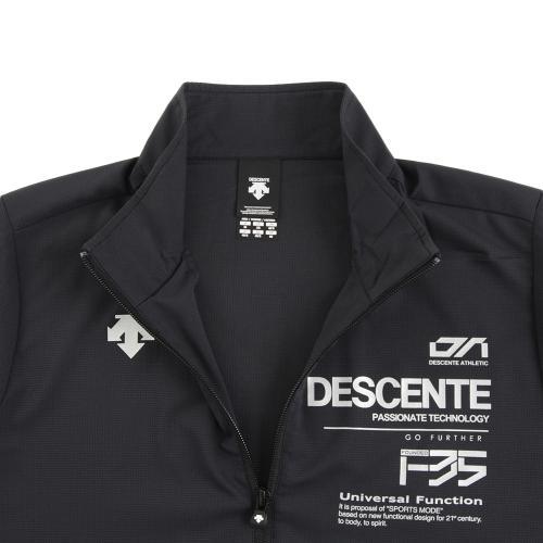 デサント(DESCENTE) ゼビオ限定 クロストレーニング半袖 DOR-C8375 BLK(Men's)