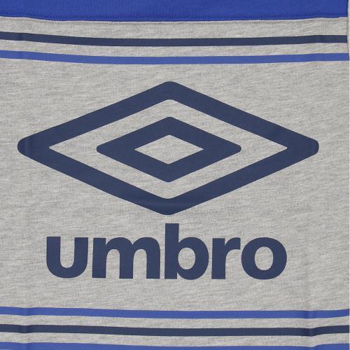アンブロ(UMBRO) 【ゼビオグループ限定】 ジュニア グラフィックシャツC UCS5754XJ MGRY(Jr)