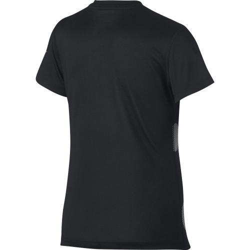ナイキ(nike) YTH ガールズ ドライ ポルカ ドット JDI ショートスリーブ Tシャツ 837968-010SP17(Jr)