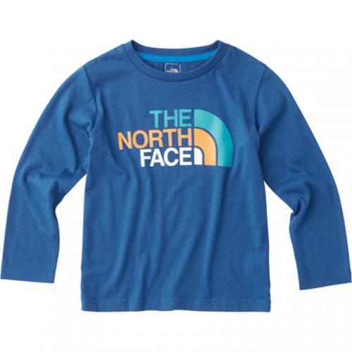 ノースフェイス(THE NORTH FACE) ロングスリーブカラフルロゴティー NTJ31708 TL(Jr)