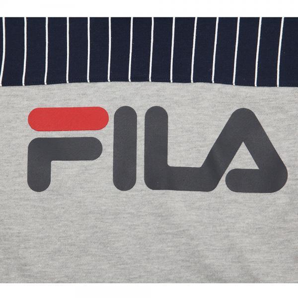 フィラ(FILA) ガールズ フード付きワンピGR XJ4606 GR(Jr)