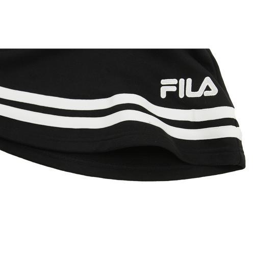 フィラ(FILA) ガールズフレアスカートBLK XJ4607 BL(Jr)