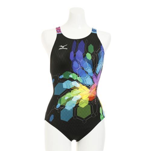 ミズノ(MIZUNO) ストリームアクティバ ワンピース 競泳水着 FINA承認 N2MA724509(Lady's)