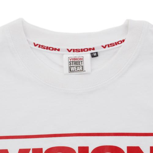VISION マグロゴ Tシャツ 6323122A-12RED(Men's)