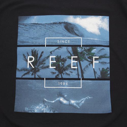 リーフ(REEF) ADVENTURE Tシャツ RF0A2YDY-BLA(Men's)