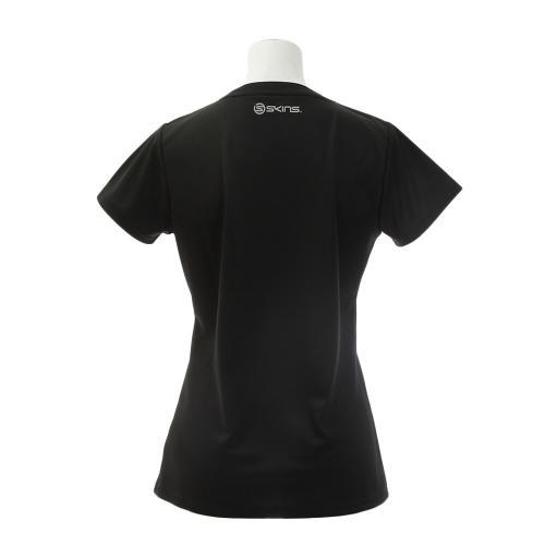 スキンズ(SKINS) ショートスリーブシャツ SAS2751W BLK(Lady's)