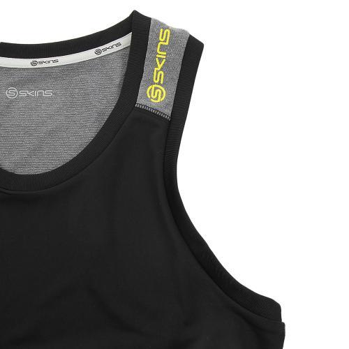 スキンズ(SKINS) クーリングクロップトップシャツ SAS2754W BLK(Lady's)