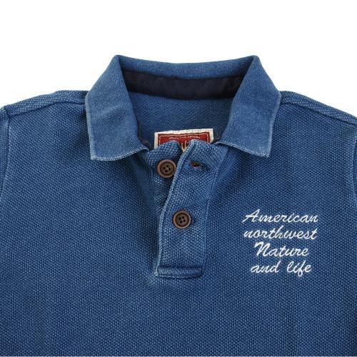 エルケクス(ELKEX) ポロシャツ 863EK7FQ4724LBLU(Men's)