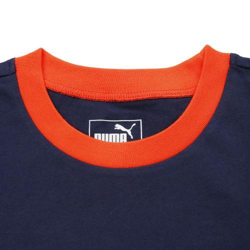 プーマ(PUMA) FUN ショートスリーブTシャツ 837816 02 NVY-(Jr)