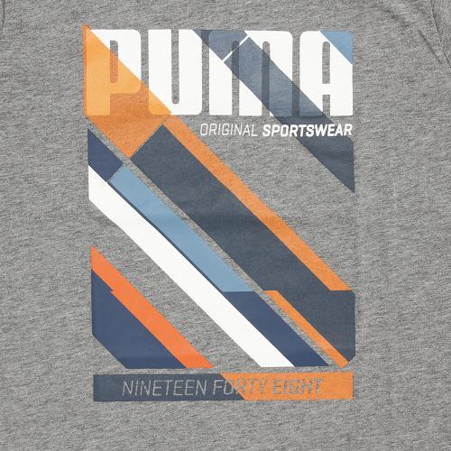 プーマ(PUMA) TD ショートスリーブ Tシャツ 839035 03 GRY(Jr)
