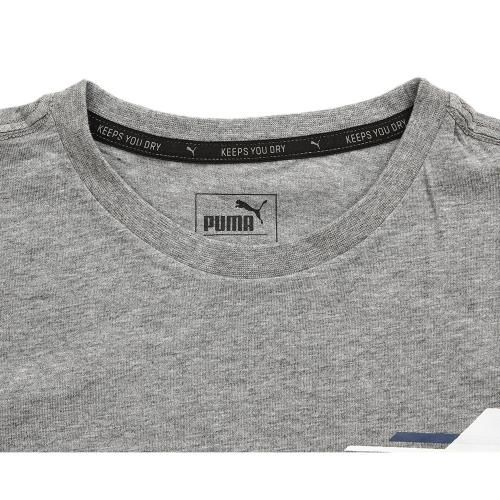 プーマ(PUMA) TD ショートスリーブ Tシャツ 839035 43 GRY(Jr)
