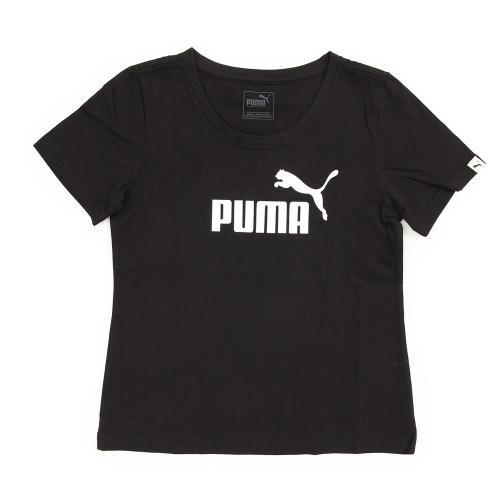 プーマ(PUMA) GL ロゴ ショートスリーブ Tシャツ 839051 01 BLK(Jr)