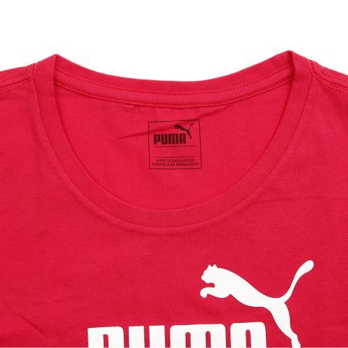 プーマ(PUMA) GL ロゴ ショートスリーブ Tシャツ 839051 24 RED(Jr)