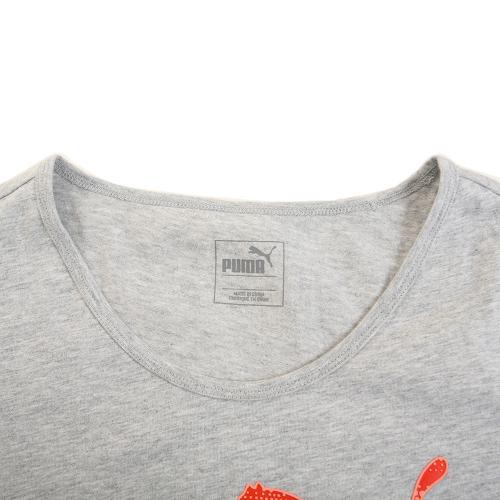 プーマ(PUMA) CD 半袖Tシャツ 837899 03-GRY(Lady's)