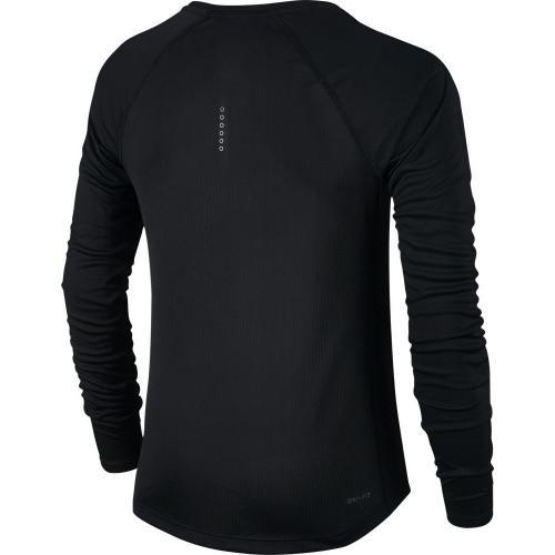 ナイキ(nike) ドライフィット マイラー ロングスリーブ トップTシャツ 831541-010SP17(Lady's)