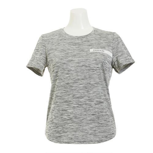 ダンスキン(DANSKIN) クルーネックTシャツ DB77121 WG(Lady's)