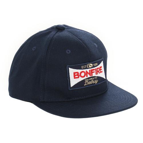 ボンファイア(Bonfire) 【ゼビオグループ限定】 SIGNBOARD キャップ NVY(Men's)