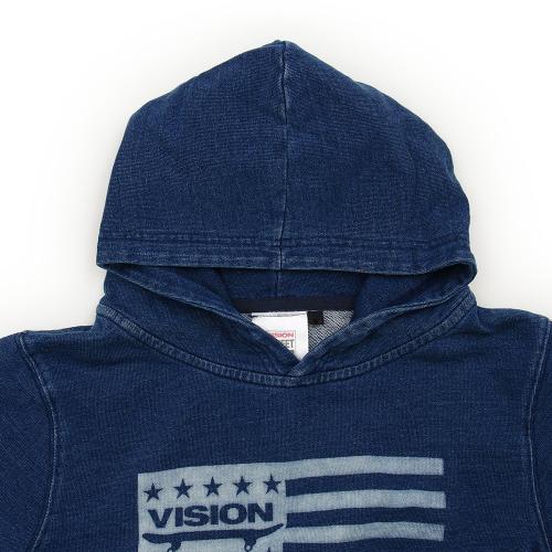 VISION カットデニムパーカー 7323703-60NAV(Jr)