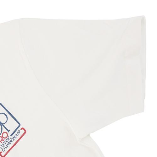 オーシャンパシフィック(Ocean Pacific) ロゴ斜めプリントTシャツ 516555 D WHT(Men's)