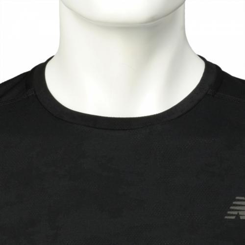 ニューバランス(new balance) インテンシティショートスリーブTシャツ AMT71047BK(Men's)