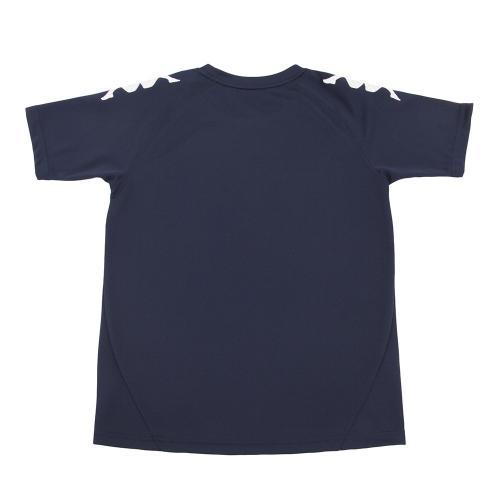 カッパ(Kappa) 【ゼビオ限定】 ボーイズ Tシャツ KM7A2TS41S NV(Jr)