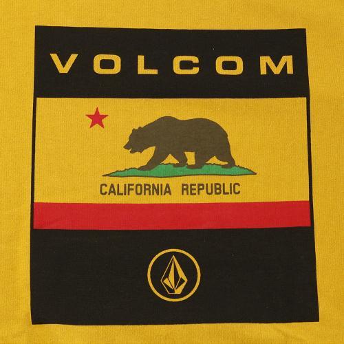ボルコム(Volcom) Calfornia Flag ショートスリーブ Tシャツ A35217JD GLM(Men's)