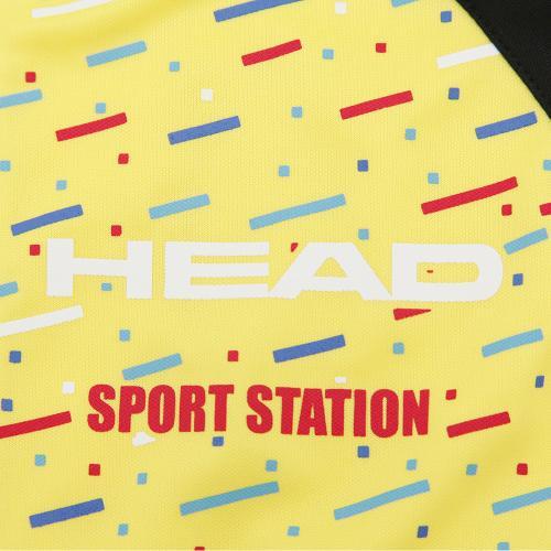 ヘッド(HEAD) 【ゼビオ限定】 ジュニア ヘッドニットウォームアップスーツ 17142SP YEL(Jr)