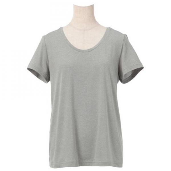 ミズノ(MIZUNO) レディース プラスミー 半袖Tシャツ ロゴ D2MA720703(Lady's)