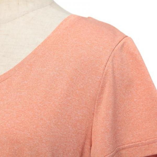 ミズノ(MIZUNO) レディース プラスミー 半袖Tシャツ ロゴ D2MA720755(Lady's)