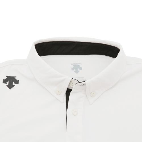 デサント(DESCENTE) サンスクリーン ポロシャツ DOR-C8059 WHT(Men's)