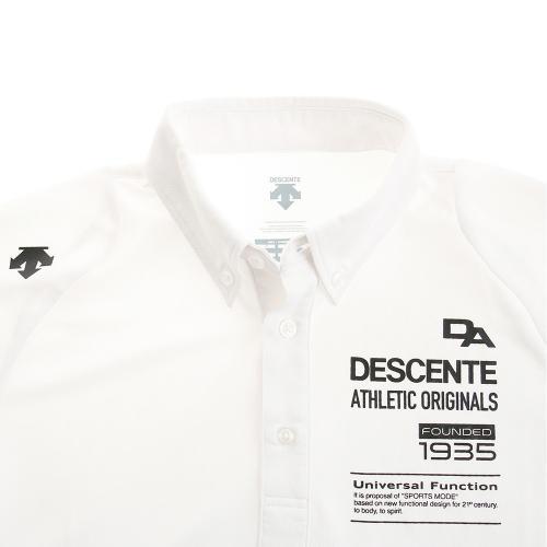 デサント(DESCENTE) ドライプラスポロシャツ DOR-C8060 WHT(Men's)