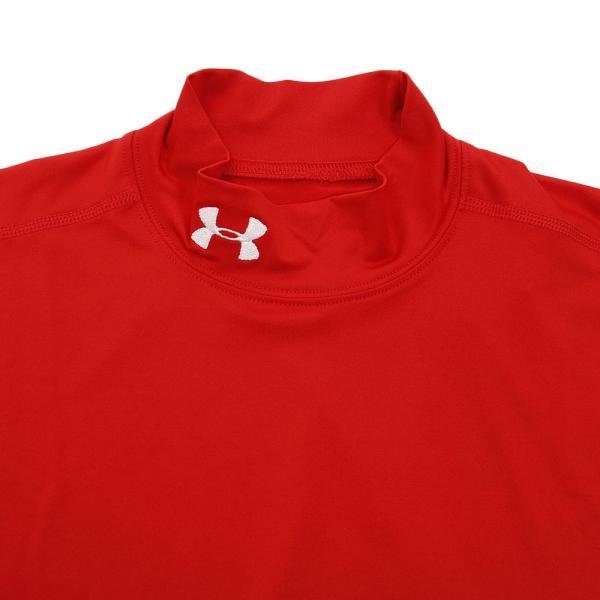 アンダーアーマー(UNDER ARMOUR) HEATGEAR ARMOUR ショートスリーブモックシャツ MCM8492 RED/RED(Men's)