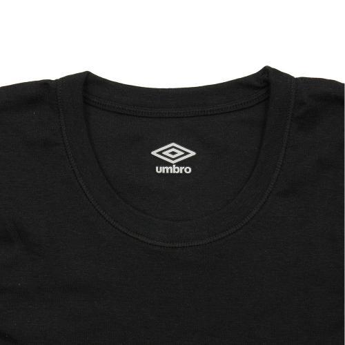 アンブロ(UMBRO) ジュニア Tシャツ 2枚組 UB1665F BLK(Jr)