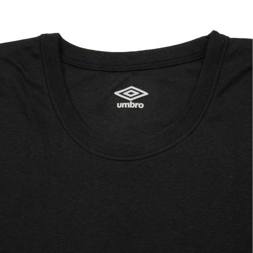アンブロ(UMBRO) ジュニア Tシャツ 2枚組 UB1680F BLK(Jr)