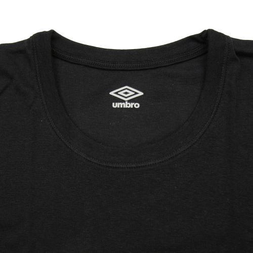 アンブロ(UMBRO) ジュニア Tシャツ 2枚組 UB1685F BLK(Jr)