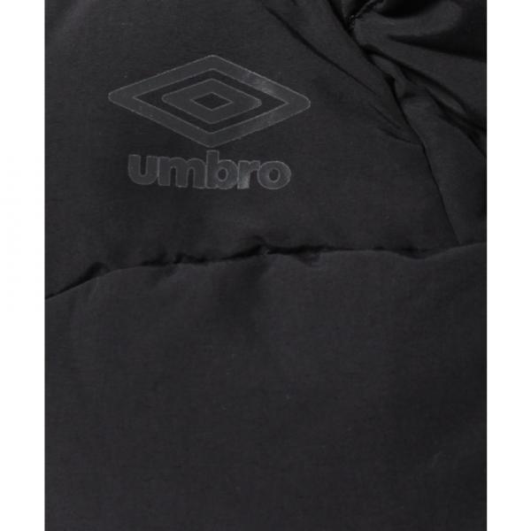 アンブロ(UMBRO) オフフィールド フーデッドダウンジャケット UCA4770 BLK(Men's)