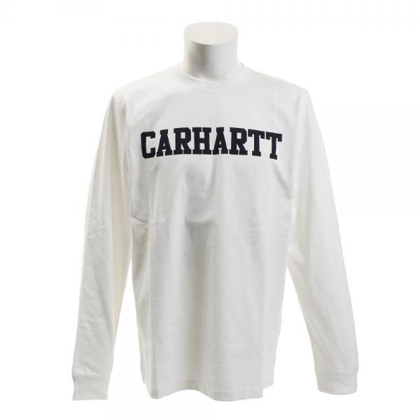 カーハート(CARHARTT) COLLEGE 長袖Tシャツ I021948029117F(Men's)